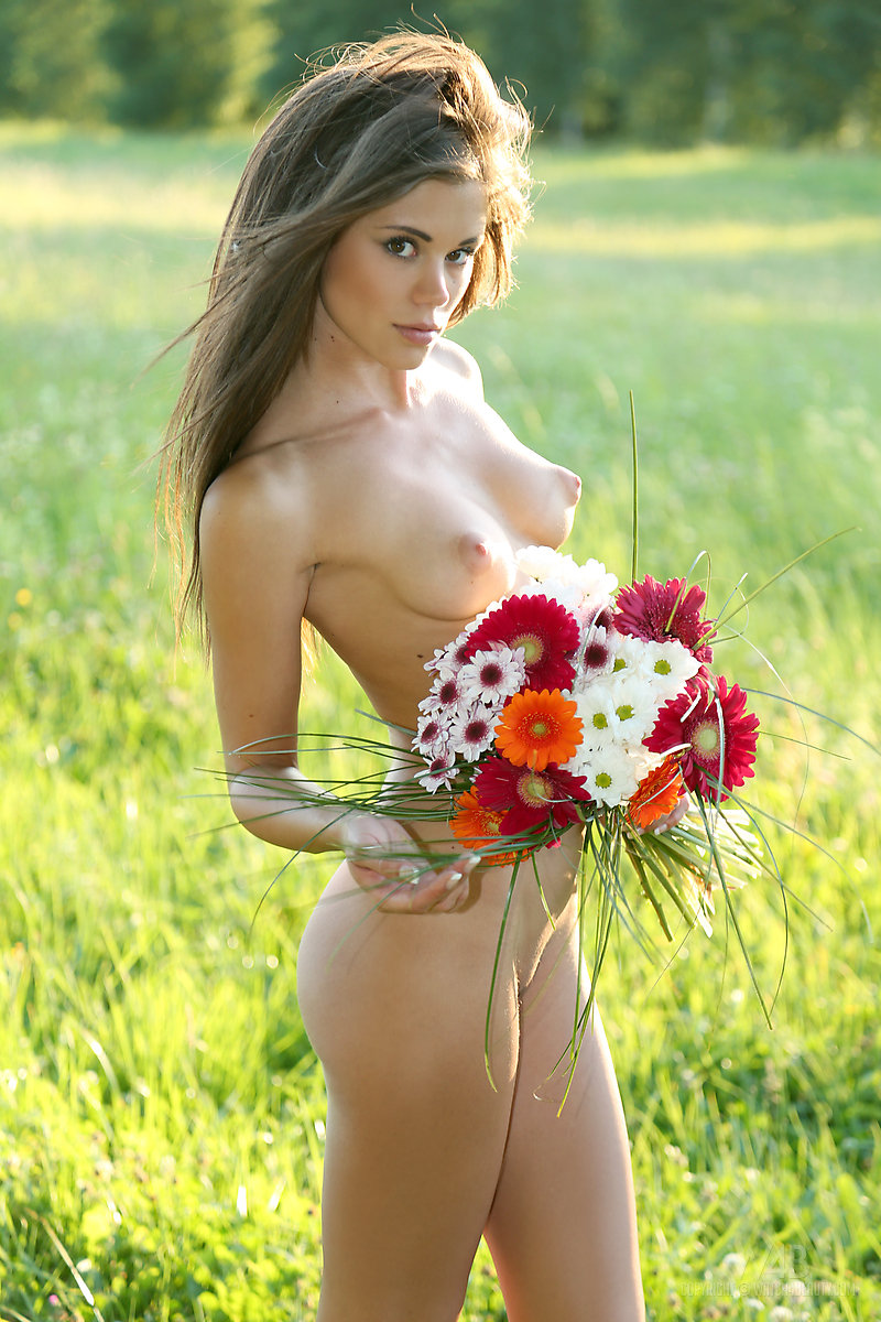 Pity, Nude female flower consider, that