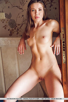 Seductive Young Girl Lika Dolce - Met Art Nude Gallery