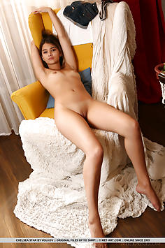 Sweet Introvert Chelsea Star - Met Art Nude Gallery