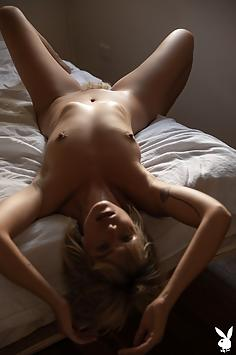 Anna Feller in front of the windows - Playboy Plus Nude Gallery